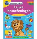 Leuke leesoefeningen / 6-7 jaar - 1ste leerjaar - groep 3 - Oefenboek met stickers