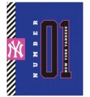 New York Yankees - No. 1 Collection ringband A4 23-rings blauw