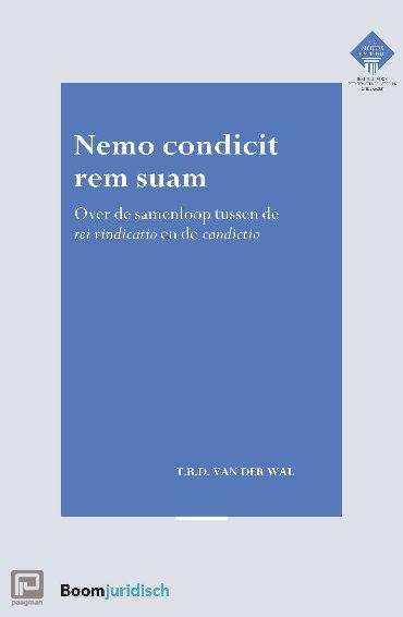 Nemo condicit rem suam - E.M. Meijers Instituut voor Rechtswetenschappelijk Onderzoek