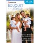 Vertederend drietal ; De liefste papa - Bouquet Extra