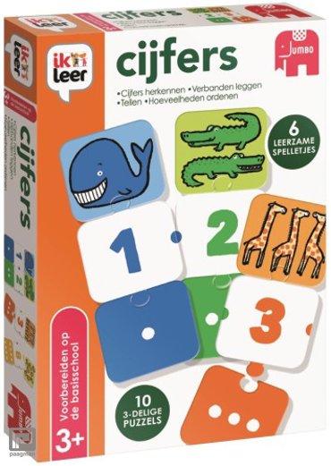 Jumbo spel; Ik leer cijfers