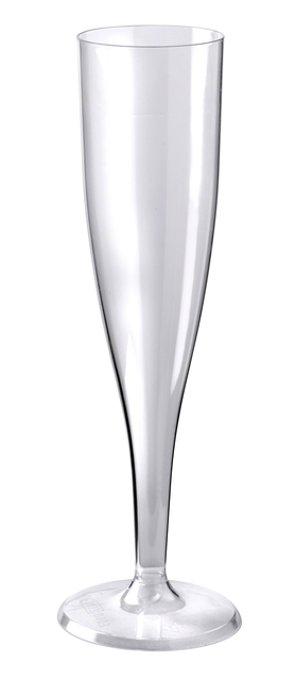 Champagneglas kunststof 100cc 10 stuks
