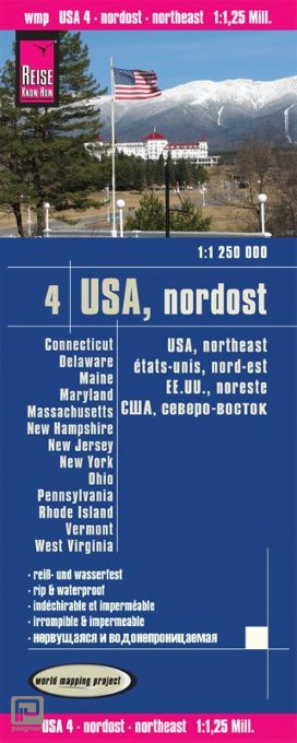 World Mapping Project USA 04. Nordost 1 : 1 250 000