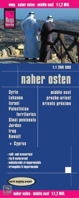 Reise Know-How Landkarte Naher Osten (1:1.200.000)