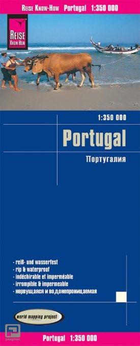 Reise Know-How Landkarte Portugal 1 : 350 000