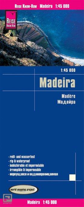 Reise Know-How Landkarte Madeira 1:45.000