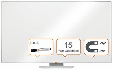 Whiteboard Nobo Widescreen Nano Clean 155x87cm