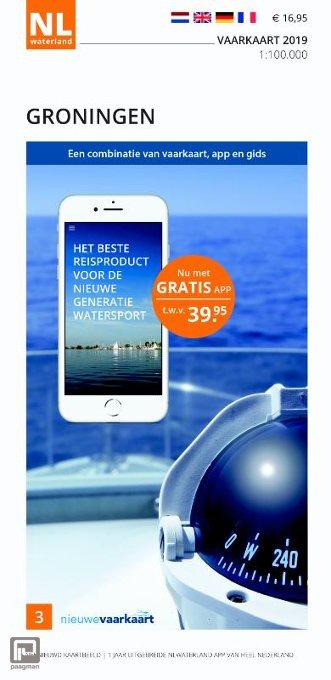 Vaarkaart Groningen 2019 - NL Waterland
