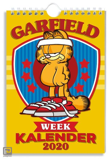 WEEKKALENDER 2020 GARFIELD - FSC MIX CREDIT