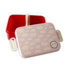 Rice lunchbox wolken roze
