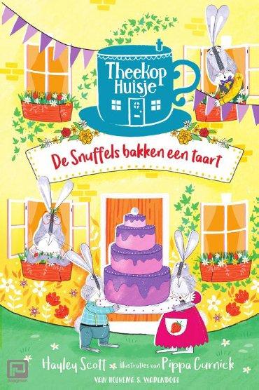 De snuffels bakken een taart - Theekophuisje