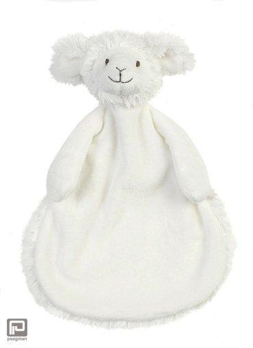 Happy Horse knuffeldoekje schaap Skyler, formaat 25 cm., kleur wit