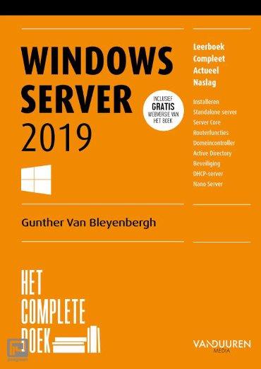 Het complete boek / Windows Server 2019 - Het complete boek