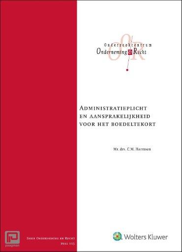 Administratieplicht en aansprakelijkheid voor het boedeltekort