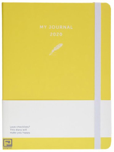 My Journal agenda 2020 - Geel
