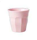 Rice melamine beker licht roze