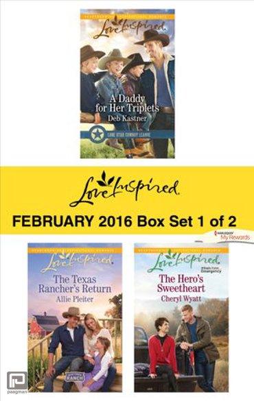 Love Inspired February 2016 - Box Set 1 of 2