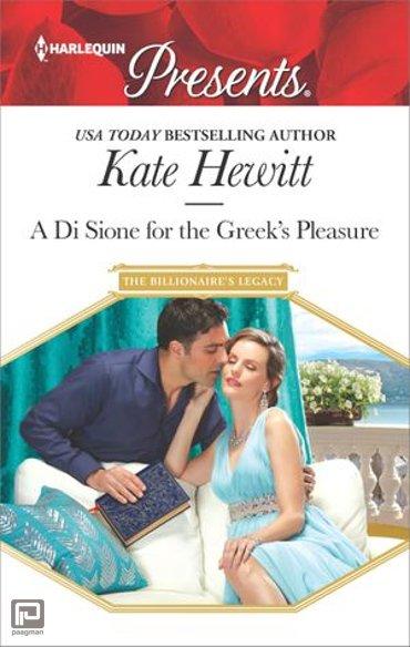 A Di Sione for the Greek's Pleasure - The Billionaire's Legacy