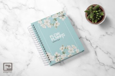 Flow Planners - ongedateerd - Mint Floral
