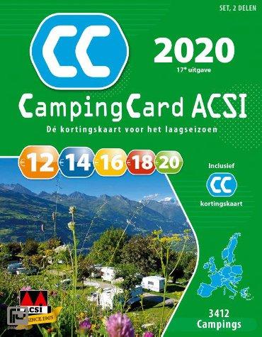 CampingCard ACSI 2020 Nederlandstalig - set 2 delen - ACSI Campinggids