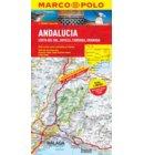 Andalusia, Costa Del Sol, Seville, Cordoba, Granada Marco Polo Map