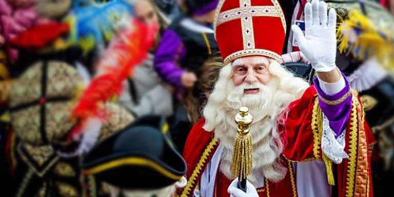 Sinterklaas op de Fred