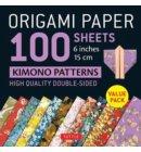 Origami paper 100 sheets kimono patterns (15 cm)