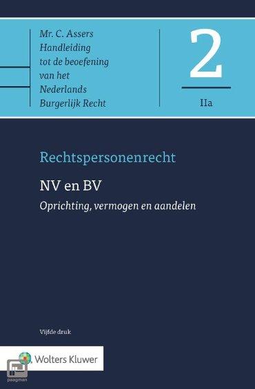 NV en BV - Oprichting, vermogen en aandelen - Asser-serie