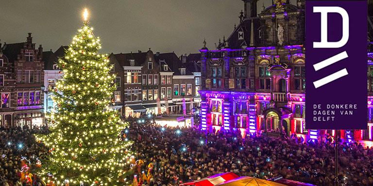10 december - Lichtjesavond Delft
