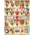 Cavallini & Co Valentijnsdag poster - Vintage Valentines