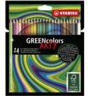 Kleurpotloden STABILO Greencolors 6019/24-1-20 etui à 24 stuks