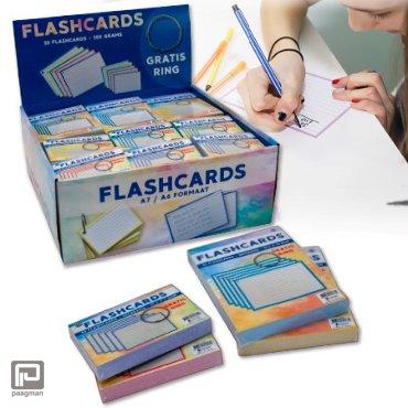 Flashcard inclusief clipring assorti