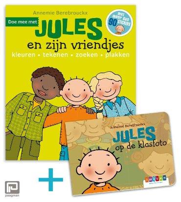 Promopakket doe mee met Jules en zijn vriendjes + kartonboekje Jules op de klasfoto