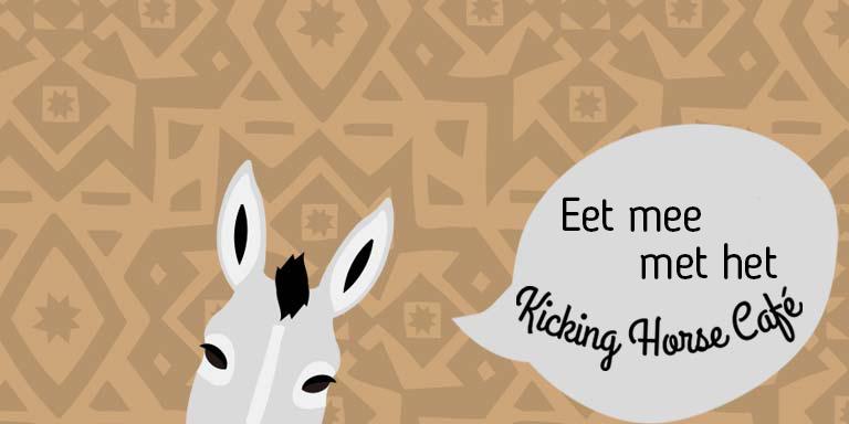 Eet mee met het Kicking Horse Café!