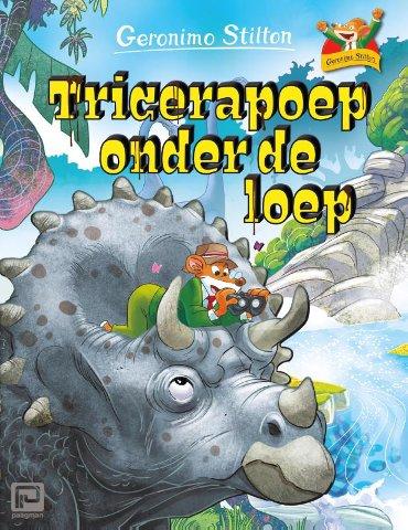 Tricerapoep onder de loep - Geronimo Stilton