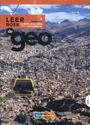 De Geo LRN-line online + boek 2 vmbo-kgt