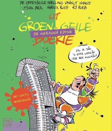 Ut groen-geile boekie vannut Haags - de Kerauna-edisie - met limited edition Haagse Harry mondkapje!