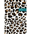 Wild Print 2 Lifestyle Notebook, Write-in with Wide-ruled Dotted Lines, 180 Pages