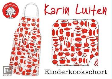 Kinderkookschort - Koken met Karin