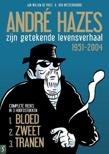 Hazes Pk03. André hazes: De stripbiografie: Pakket bloed, zweet en tranen (3 delen)