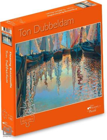 Ton Dubbeldam - Floating Ratatouille - Puzzel 1000 stukjes