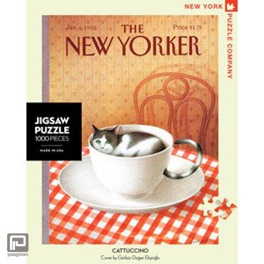 New York Puzzle Company puzzel - Cattuccino 1000 stuks