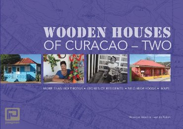 Wooden houses of Curaçao- two
