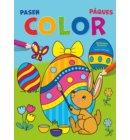 Pasen Color kleurblok / Pâques Color bloc de coloriage