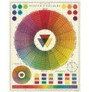Cavallini & Co vintage puzzel - Color Chart