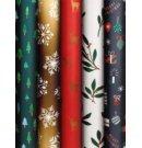 Stewo cadeaupapier kerst Traditional, formaat 70 x 200 cm., kleur assorti