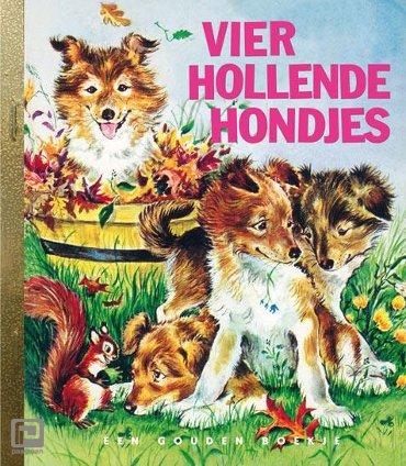 Vier hollende hondjes - Gouden Boekjes