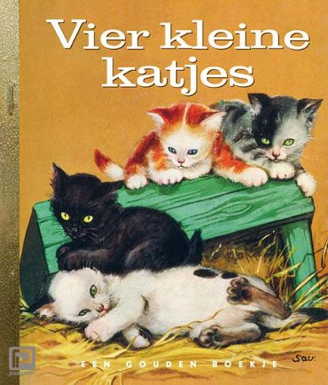 Vier kleine katjes - Gouden Boekjes